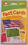 AppleSeed United States Geography Facts Flash Cards - 36 Count