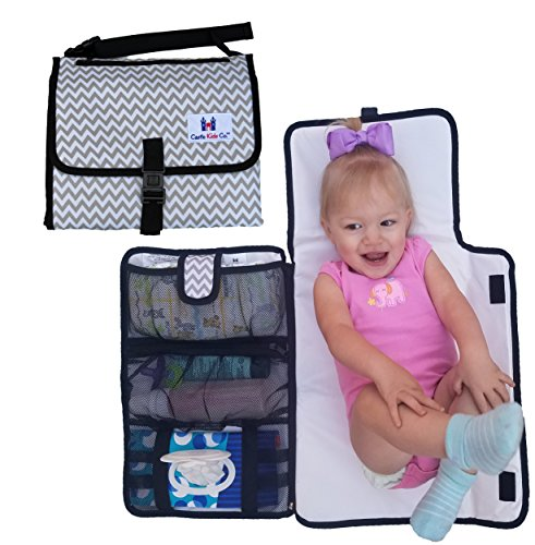 Luxury All in One Travel Diaper Changing Pad