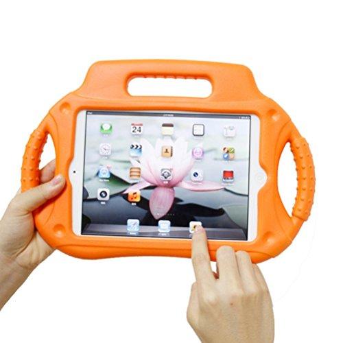 Price comparison product image Creazy Multifunction Kids Shock Proof Handle Protective Case For iPad mini 1 2 3 4 (Orange)
