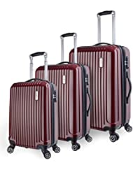 TravelCross Berkeley 3 Piece Lightweight Spinner Luggage Set