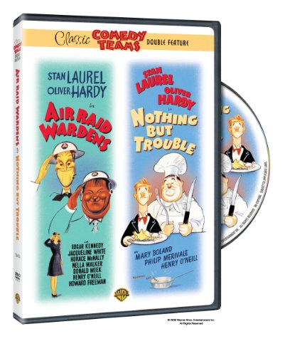Laurel & Hardy - Air Raid Wardens / Nothing but Trouble -
