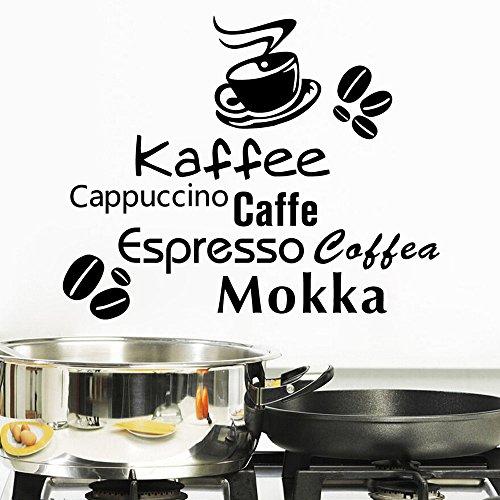 ElecMotive Cappuccino Lettering Decoration Sticker