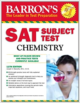 Chemistry Subject Test