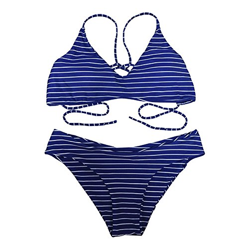 - 5116VWoyhTL - Womens Swimsuits 2 Pcs Brazilian Top Thong Bikini Set High Waisted Bathing Suits for Women