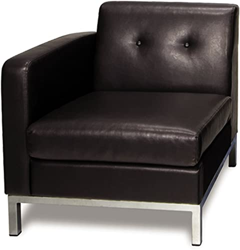 OSP Home Furnishings Wall Street Single Armed Chair LAF