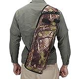 XTACER Multi-Fonction 4-Tubes Back Quiver Training Archery Arrow Quiver Holder Bow Bag Pouch