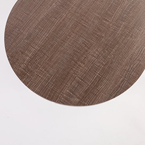 CTF STELLA Walnut Oval Coffee Table Side Table End Table