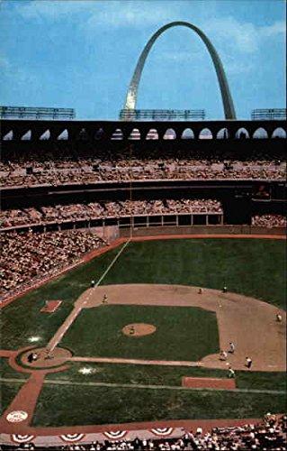 Busch Memorial Stadium St. Louis, Missouri Original Vintage Postcard ()