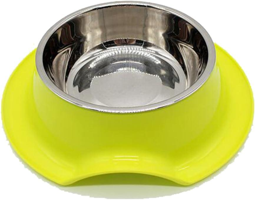 Yonger Pet Dog Bowl Stainless Steel Pet Bowl Food Water Dish Feeder Dog Bowl Blue
