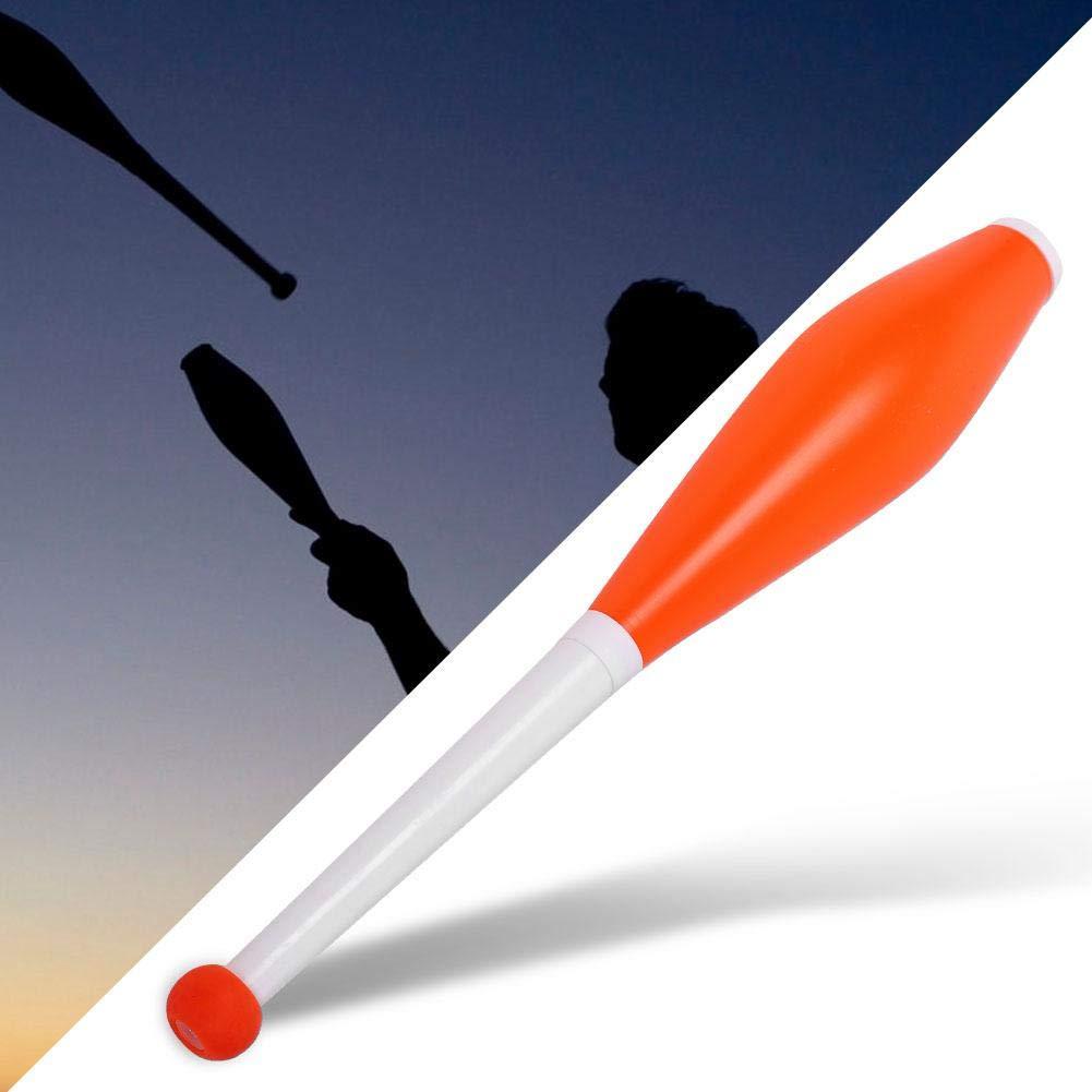 Alomejor Children Juggling Stick Professional Juggling Club Set Kids Outdoor Games Toy Magic Stick Set of 3 (Orange) by Alomejor (Image #4)