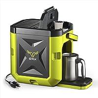 OXX CoffeeBoxx Hi Viz Green Single Serve Coffee Maker