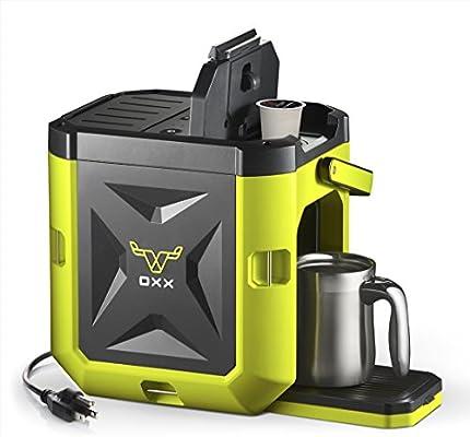OXX Coffeeboxx Jobsite Cafetera de porción individual resistente ...