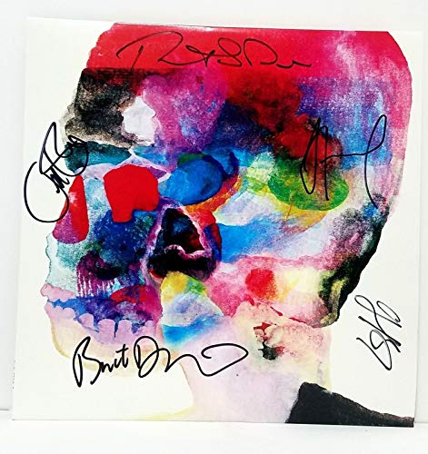 "SPOON Signed Vinyl""Hot Thoughts"" Record, LP JSA #T78771"