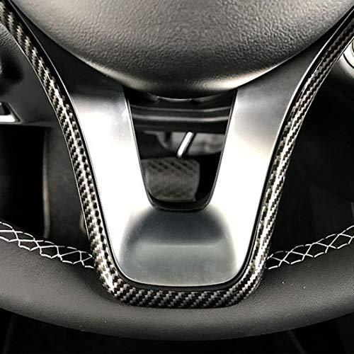 SODIAL Coche Cubierta del Ajuste del Marco del Volante para Mercedes a B C E Cla CLS Gla Glk Clase W176 W246 W204 W207