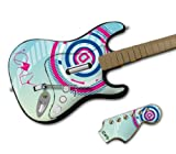 Zing Revolution MS-ICRL10028 Rock Band Wireless Guitar- iCarly- Geometric Skin