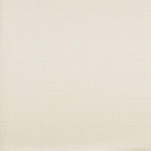 - eLuxurySupply Fabric by The Yard - Polyester Blend Upholstery Sewing Fabrics with LiveSmart Technology - Dover Ivory Color