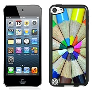Designed For HTC One M7 Case Cover Colorful Pencils Round Phone