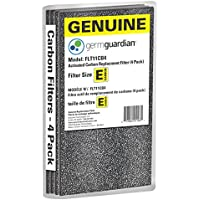 GermGuardian Air Purifier GENUINE Carbon Filter 4-Pack for use with FLT4100 HEPA Filter E for AC4100 Series Germ Guardian Air Purifiers, FLT11CB4
