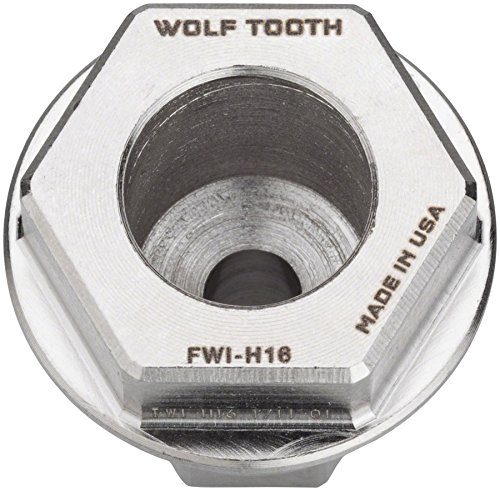 Wolf Tooth Components Flat Wrench Insert 16mm Hex (Allen Mm Wrench 16)