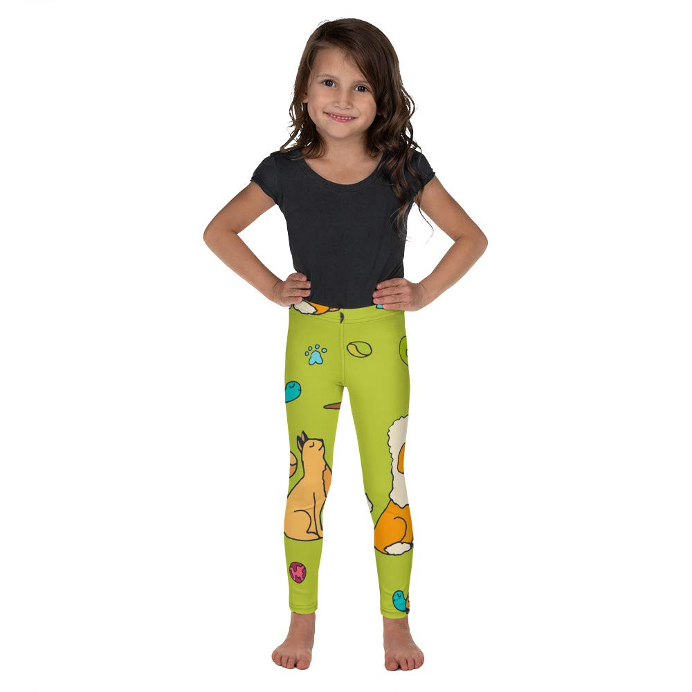 Animal Lover Cat and Dog Kids Leggings