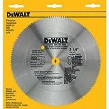 DEWALT DW3526 7-1/4 Hollow Ground Ply Saw Blade