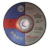 6''x.045''x7/8'' Depressed Center Thin CutOff Wheel - 50 Pack