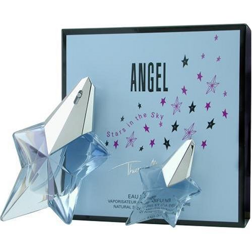 Angel By Thierry Mugler For Women. Eau De Parfum Spray .8 oz & Eau De Parfum .17 oz Mini (travel Offer)