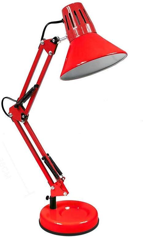 Lampada Da Scrivania Con Braccio Snodabile Luce Da Tavolo E27 Orientabile Td101 Amazon It Illuminazione