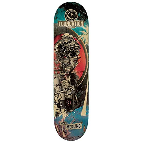 Foundation Skateboard Deck Merlino Nuclear 8.0