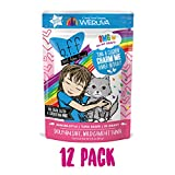 B.F.F. Omg - Best Feline Friend Oh My Gravy!, Tuna & Chicken Charm Me With Tuna & Chicken In Gravy Cat Food By Weruva, 3Oz Pouch (Pack Of 12) Larger Image