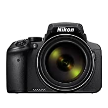 Nikon COOLPIX P900 16MP Super-Zoom Digital Camera with 83x Optical Zoom and Built-In Wi-Fi and NFC, Black (Renewed)