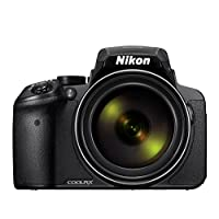 Nikon COOLPIX P900 16MP Super-Zoom Digital Camera with 83x Optical Zoom and Built-In Wi-Fi and NFC, Black (Certified Refurbished)