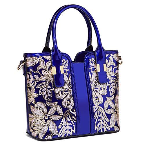 portable Blue sac mode à à États Femmes Lxf20 Europe sac sac et perles bandoulière Unis sac les PU main 6wSxpzqz5U