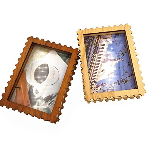 cecii-1pcs-stamp-shape-wood-picture-framedesktop-photo-framehome-decor-for-37x5-inch-image-2-colours