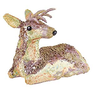 Sitting Deer for Decoration - Golden