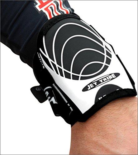 wrist-guard-1-piece-white-black-pwc-jetski-ride-race-gear