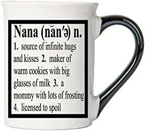 Nana Mug, Nana Coffee Cup, Ceramic Nana Mug, Mother's Day Gift By Tumbleweed