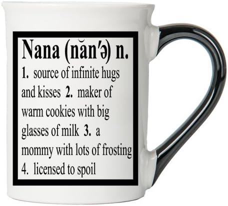 Nana Mug, Nana Coffee Cup, Ceramic Nana Mug, Mother's Day Gift By Tumbleweed