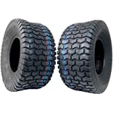 Tire 2 Set MASSFX Golf Cart Tires 18x8.5-8 MO18858 4 PLY 5mm Tread 18x8.5x8