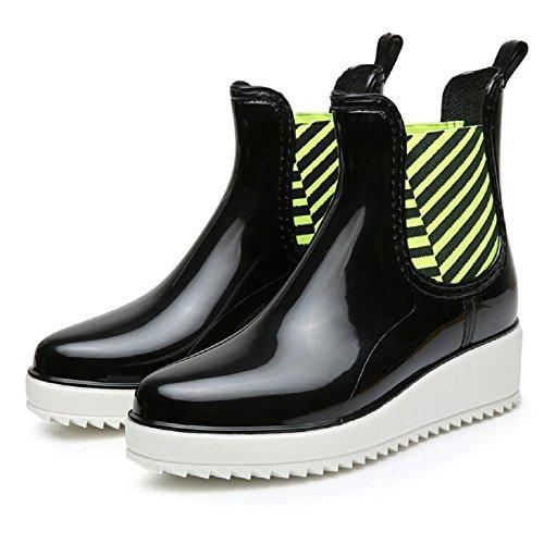 Alger Fashion shoes anti-skid Rain boots, 38