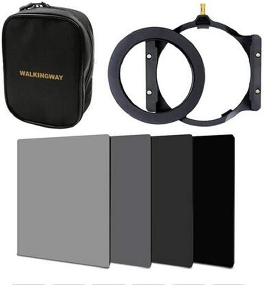 ZOMEI 150100mm ND2+ND4+ND8+ND16 Neutral Density Square Filter+Filter Holder+Bag+82mm Adapter Ring