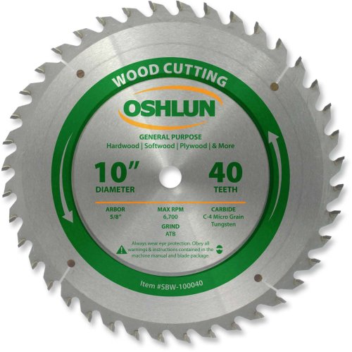 Oshlun SBW 100040 10 Inch General Purpose