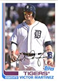 2017 Topps Archives #152 Victor Martinez Detroit Tigers Baseball Card