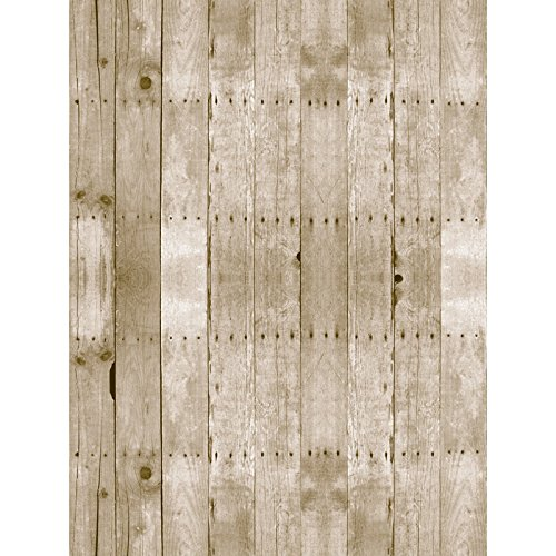 (Fadeless PAC56515 Bulletin Board Art Paper, Weathered Wood, 48