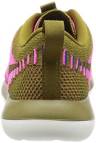 Nike Kvinner Roshe To Flyknit Hvit / Fersken Krem