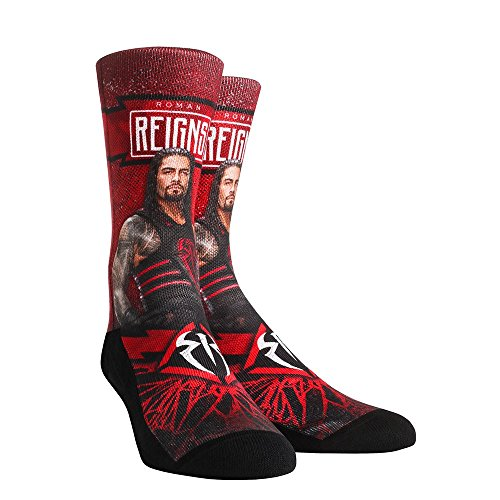 (Rock 'Em WWE Walkout Socks (L/XL, Roman)