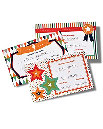 Assorted Write-in Award Certificates - 50 Count]()