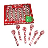 CANDY CANE Spoons, peppermint flavored, (1) box