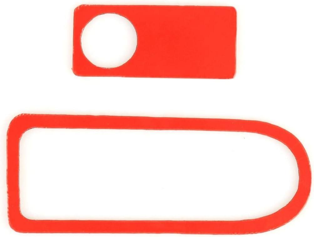 LYNQYGCarbon Fiber Sticker Easy 2 St/ück Auto Beifahrersitz-Aufbewahrungsbeh/älter Griff Carbon-Faser-dekorativen Aufkleber for Mercedes-Benz W204 zu installieren