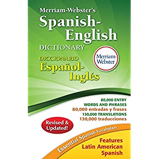 Merriam-Webster's Spanish-English Dictionary, Newest Edition, Hardcover, (Spanish and English Edition)